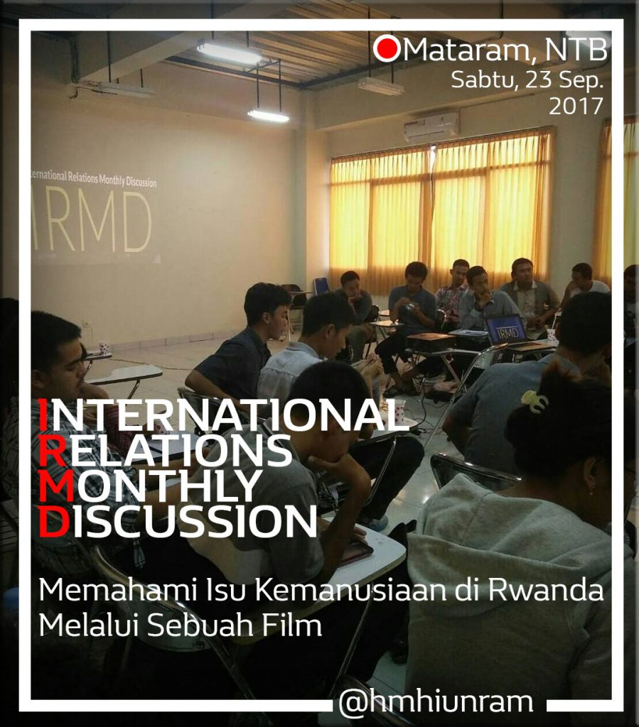 a discussion of international relations